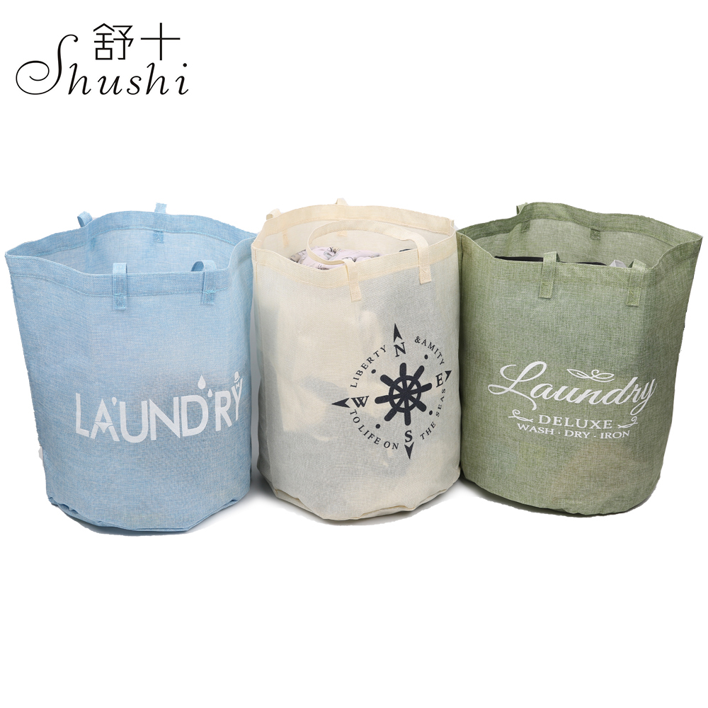 Shushi Waterproof Dirty Laundry Bags And Baskets  Laundry Hamper Organizer Bag  Storage Basket Laundry Linen Laundry Bag Travel