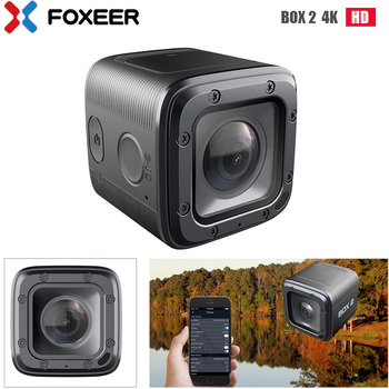Foxeer BOX 2 4K HD экшн FPV камера SuperVison HD 155 градусов ND фильтр приложение Micro HDMI Быстрая зарядка type-c (должна U3 карта)