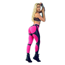 Fitness Heart Hip Print Women Push Up Leggings Female Fitness Club Sportswear Workout Print Leggings