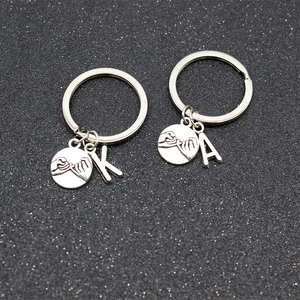 Custom Keyring Engraved Thank for All The Orgasms I Love You Key Ring Couple Keychain Jewelry Gifts Give To My Boyfriend Husband(China)