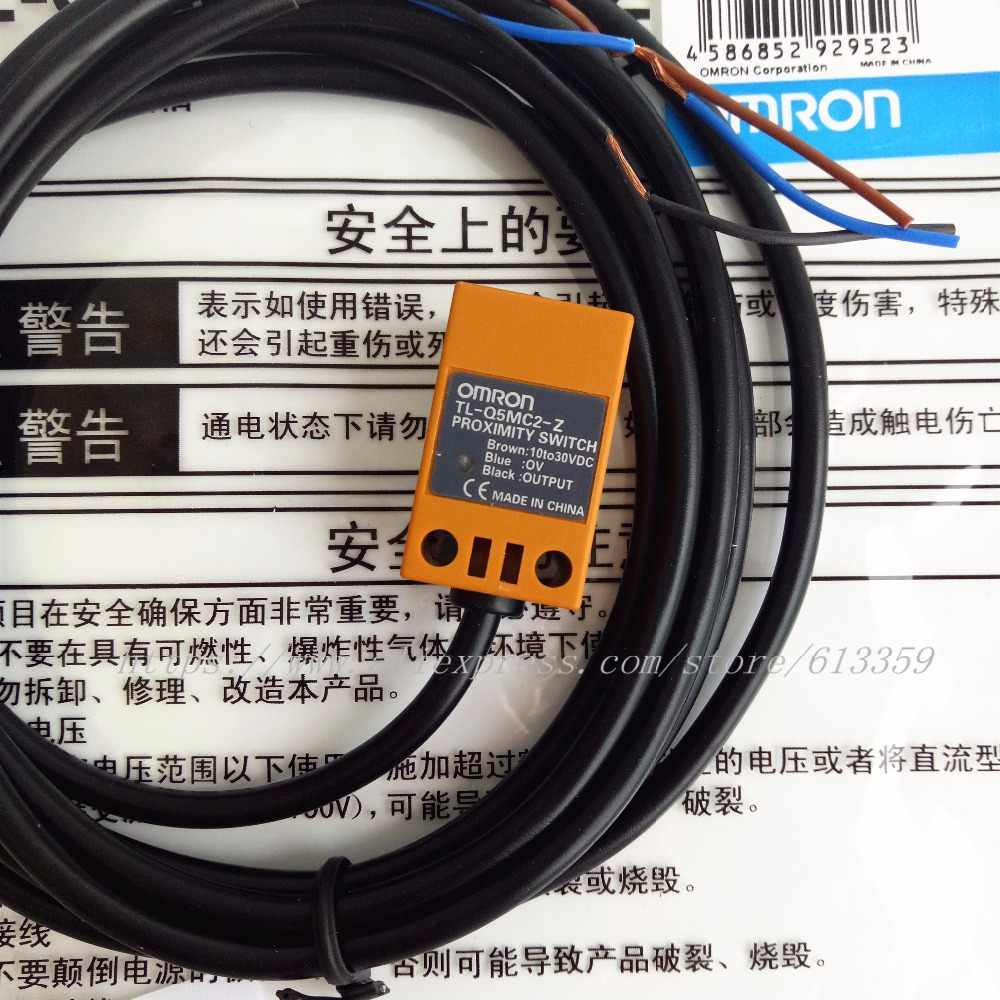 hight resolution of detail feedback questions about 2pcs tl q5mc1 z tl q5mc2 z tl q5mb1 z npn pnp no nc omron proximity switch inductive sensor 3 wire dc10 30v 100 new