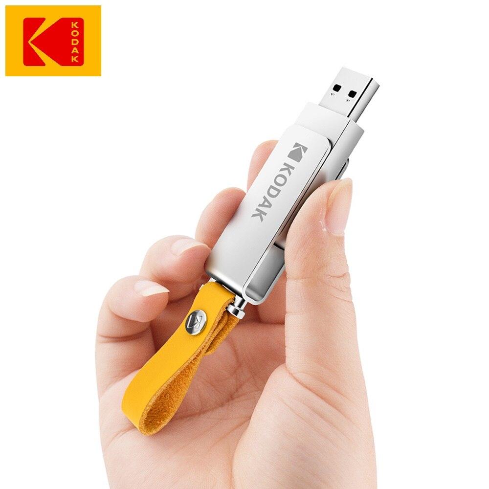 Kodak K133 16gb 32gb 64GB 128gb 256gb Usb Flash Drive Mini Pen Drives Stick Metal Memory Stick 64gb USB 3.0