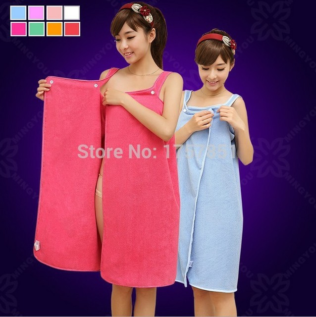 The new wear magic show big bath towel Cotton thickening of adult men and  women love hotel soft water bath robe 2dcc75fef