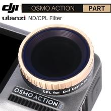Ulanzi CPL עדשת מסנן עבור Dji אוסמו פעולה ND8 ND16 ND32 ND64 מצלמה עדשת מסנן פעולה מצלמה אבזרים