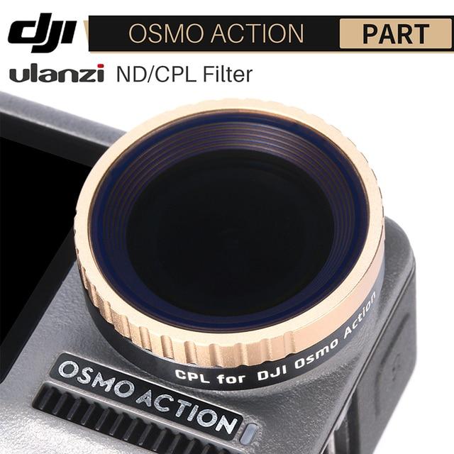 Ulanzi CPL Filtro de lente para Dji Osmo Action ND8 ND16 ND32 ND64 Filtro de lente de cámara accesorios de Cámara de Acción
