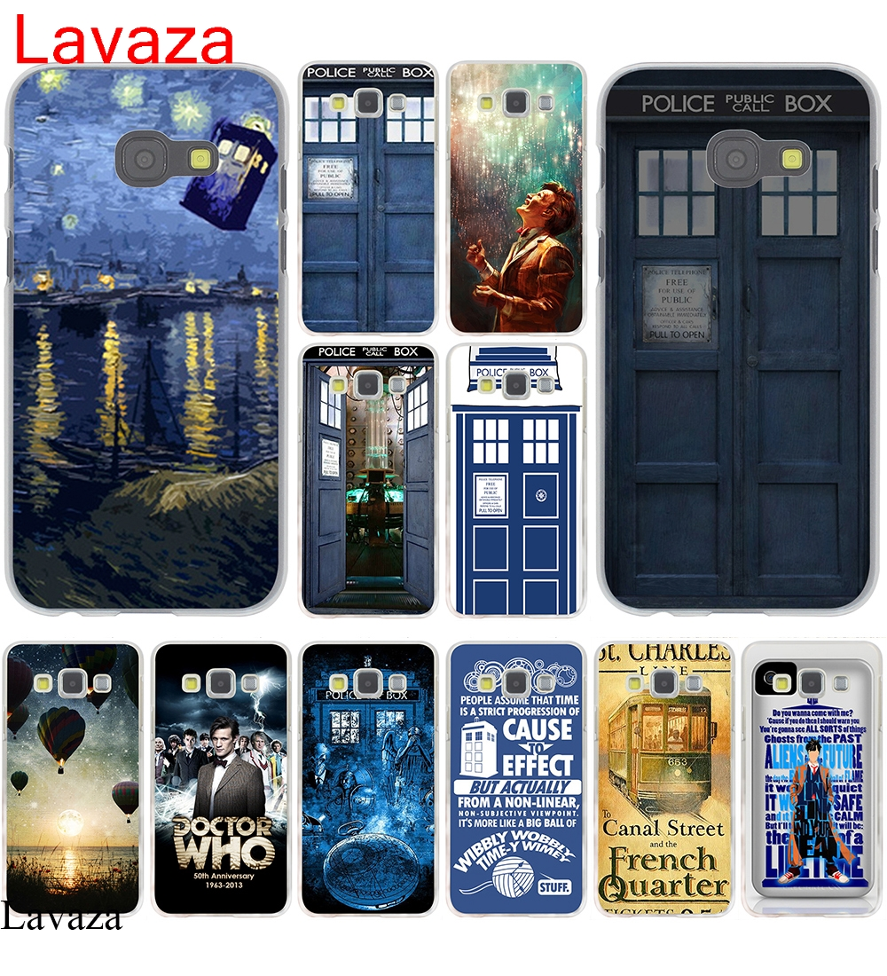 Lavaza Tardis Dr Doctor Who Police Call Box Doctor who Hard Case Cover for Galaxy A3 A5 J5 (2015/2016/2017) & J3 J5 Prime A7 J7