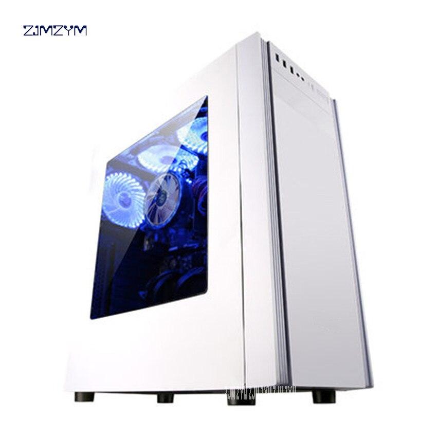 I3 7100 litres 8100 ordinateur de bureau hôte jeu assemblée Machine bricolage ordinateur cas un ensemble complet 240GB capacité du disque dur DDR4