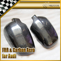 New Car Styling For Audi A4 B6 Carbon Fiber Rearview Mirror Cover