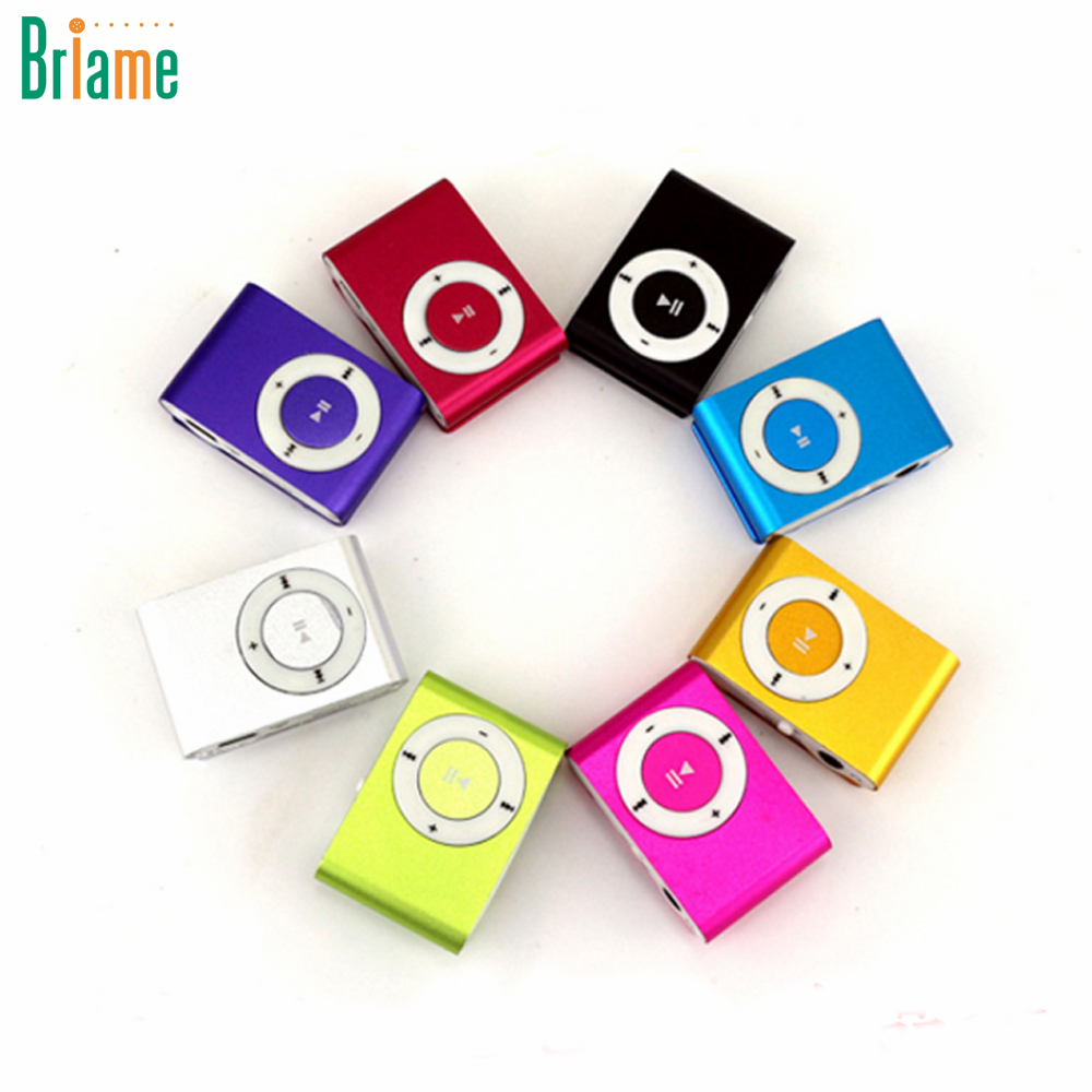 Briame NEW Big Promotion Mirror Portable MP3 player Mini Clip MP3 Player Sport Mp3 Music Player Walkman Lettore Mp3