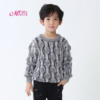 Boys Knitted Sweaters Autumn Winter Children Mixed Color Christmas Sweater Boy Pullover Casual Kids Clothing 4