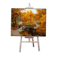 Y19 Unique Gift Autumn Scenery Creative Framless Picture Digital DIY Oil Painting On Canvas Painting By