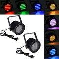 86 RGB LED Свет Этапа Дискотека Номинальной Света Портативный RGB Магия звуковой Активации Освещения Лазерный Проектор Партии Диско-Бар КТВ Dj Лампы