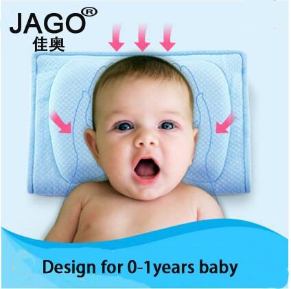 JAGO New design Baby nursing pillow 0-3 years children baby head shaping pillow cheap memory foam pillow