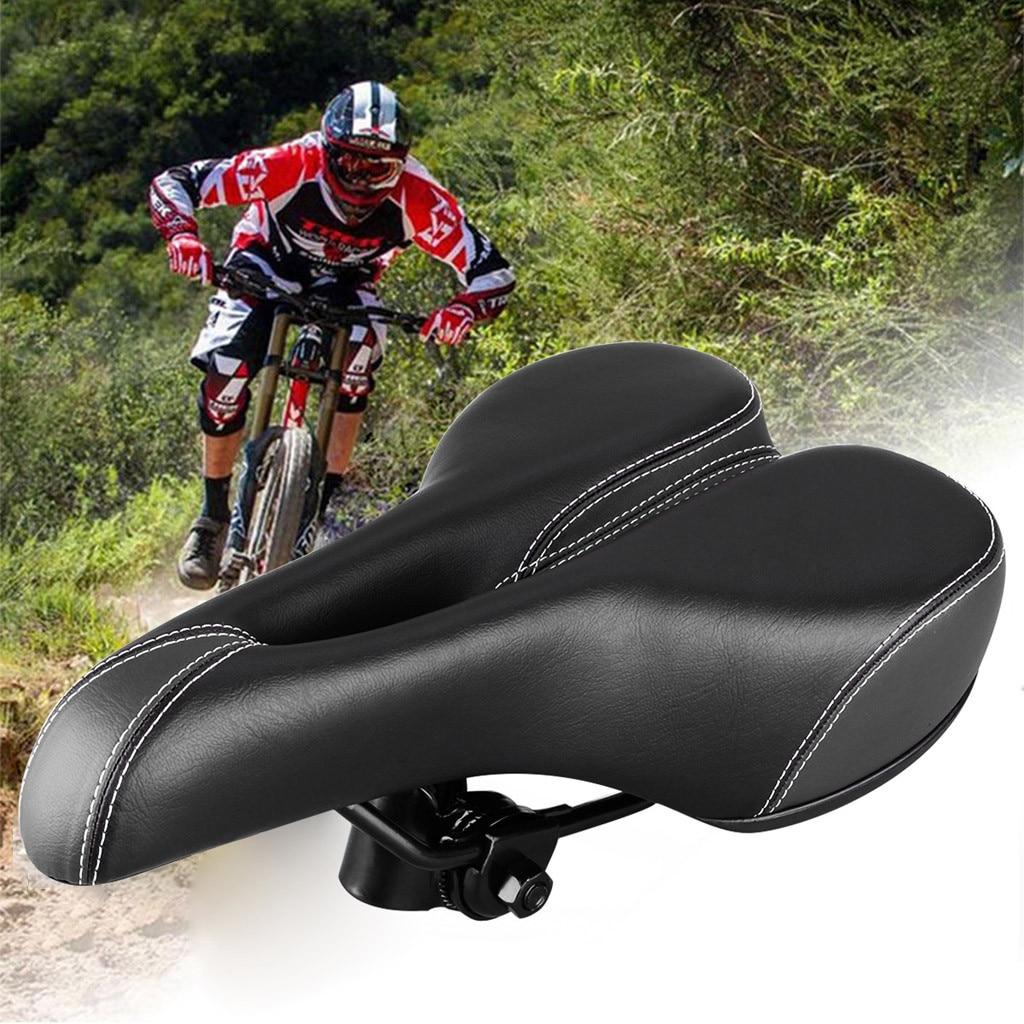 YAFEE  Comfort Wide Big Bum Bike Bicycle Gel Cruiser Extra Sporty Soft Pad Saddle Seat #NE1119