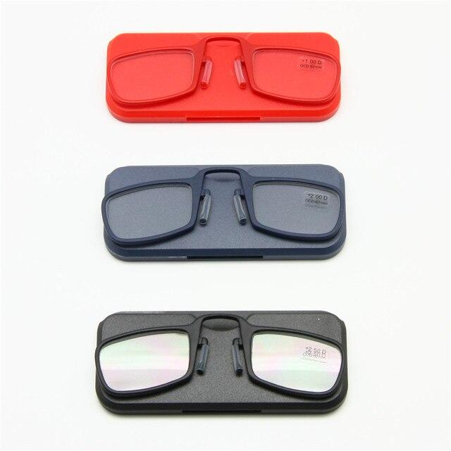 90769f16c6 Gafas para leer nariz clip + 1.0 a + 3.5 pegarse dondequiera, ultra ligero  portátil