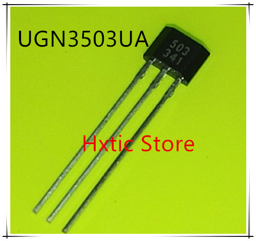 10PCS UGN3503UA UGN3503U UGN3503 503 TO92 Hall Sensor New Original Free Shipping