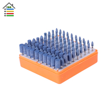 New 100pcs set Universal Rotary Assorted Abrasive Stone Accessory Tool Kit For Dremel Grinder Grinding Polishing