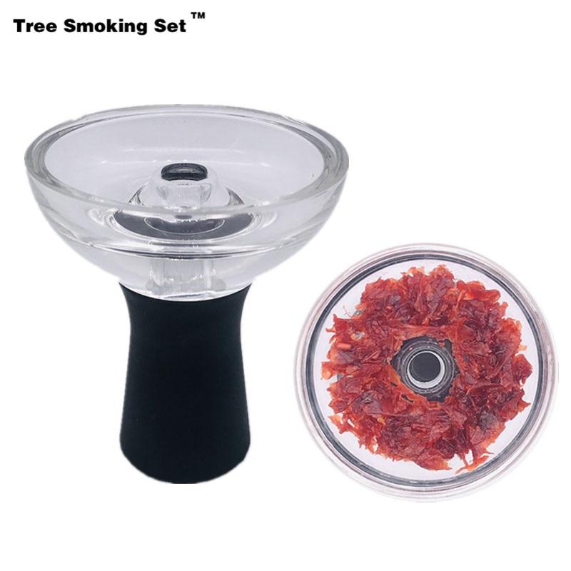 High Temperature Glass & Silicone Tobacco Bowl For Hookah Shisha,Sheesha,Chicha,Narguile Accessories Cachimbass Pipa Waterpijp