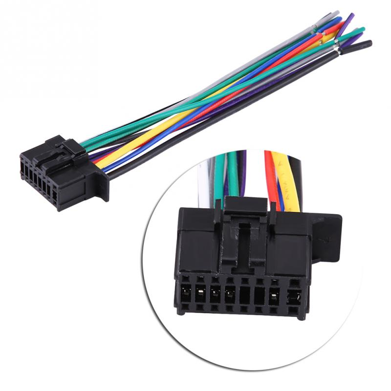 US $2.96 28% OFF|Car Radio Stereo Wire Wiring Harness CD Player Plug on kenwood stereo wiring diagram, sirius radio wiring harness, kenwood radio wiring colors, kenwood harness diagram, clarion car radio wiring harness, kenwood car speaker, kenwood stereo wire colors, kenwood kdc wiring harness, kenwood car stereo manual, kenwood car stereo frame, audio wiring harness, automotive wiring harness, scosche wiring harness, kenwood kdc mp435u wiring-diagram, kenwood to ford wiring harness, kenwood car subwoofer, kenwood car radio harness, kenwood wiring harness colors, alpine wiring harness, kenwood model kdc wiring-diagram,