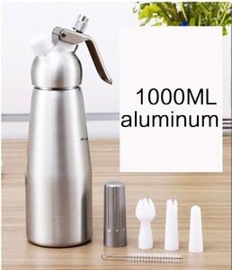 Image 5 - Kaliteli 500ML/1L Artisan krem şanti dispenseri, krem Whipper dekorasyon nozulları