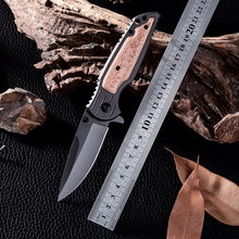 D2 Utility Camping Tactical Knives High Quality Outdoor Wood Handle Cold Steel Survival Hunting Knife Facas Taticas X38