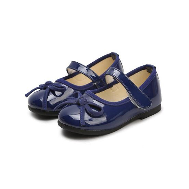 New Women s boy fashion patent leather Shoes Sandals for baby breathable  kids slip-on princess slippers 0c01decc41