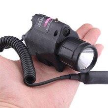 Combo 200 Lumen Red Laser Flashlight