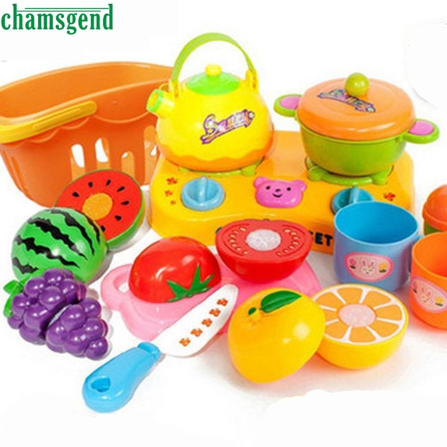 online get cheap modern kitchen toy aliexpresscom  alibaba group - chamsgend modern pcs food toy cutting fruit vegetable pretend toychildren kid educational toy for kids