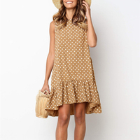 Polka Dot Beach Midi Dress
