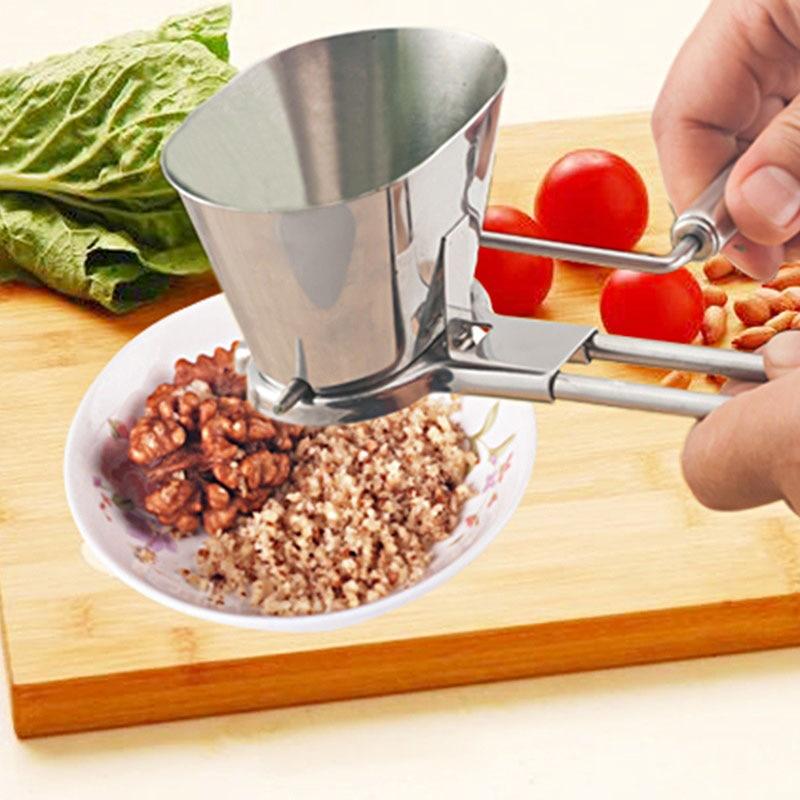1 Pc Vanille Gemüse Schleifen Werkzeuge Grinder Edelstahl Petersilie Schredder Koriander Chopper Gewürzmühle Pfeffer Ok 1056 RegelmäßIges TeegeträNk Verbessert Ihre Gesundheit