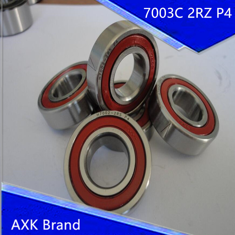 1pcs 7003 7003C 2RZ P4 17x35x10 AXK Sealed Angular Contact Bearings Speed Spindle Bearings CNC ABEC-7 1 1532142 2[d sub micro d connectors 094 5104 7003 mck n1 p mr li