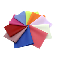 David accessories 20*34cm Jelly faux artificial Synthetic leather fabric hair bow diy decoration crafts 26piece/set,1Yc6314