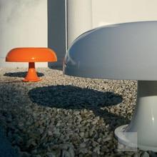 Giancarlomattioli гриб настольная лампа белый/оранжевый 320*300 мм