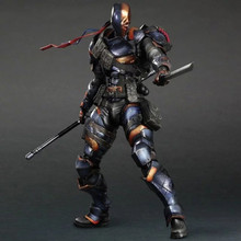 Deathstroke Play Arts PA Kai Variant Deadpool Terminator Slade Joseph Wilson 27cm Action Figure PVC (no retail box)