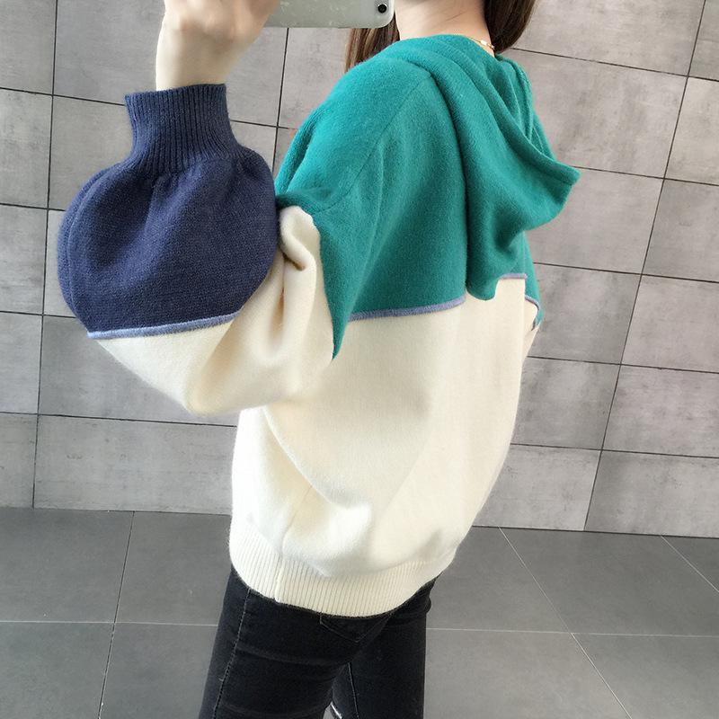 Women Knitted Hoodies 1