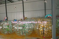 PVC inflatable bumper ball soccer bubble for football game