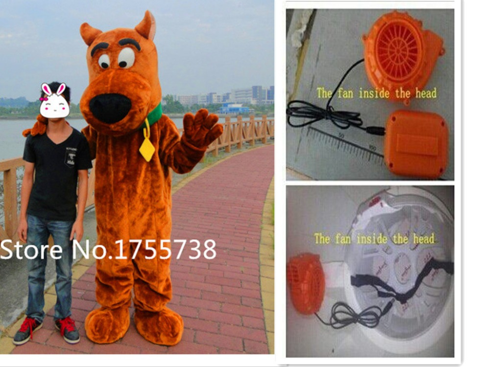 Hot Scooby Doo dog mascot costume Scooby - Doo clothing dog mascot costume fast shipping