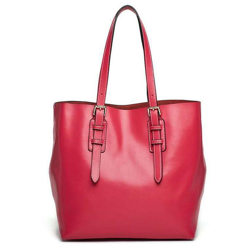 Women Fashion Leisure Bag Genuine Leather Handbag 2017 Luxury Brand Women Bag Casual Tote Bags High Quality Shoulder Bag все цены
