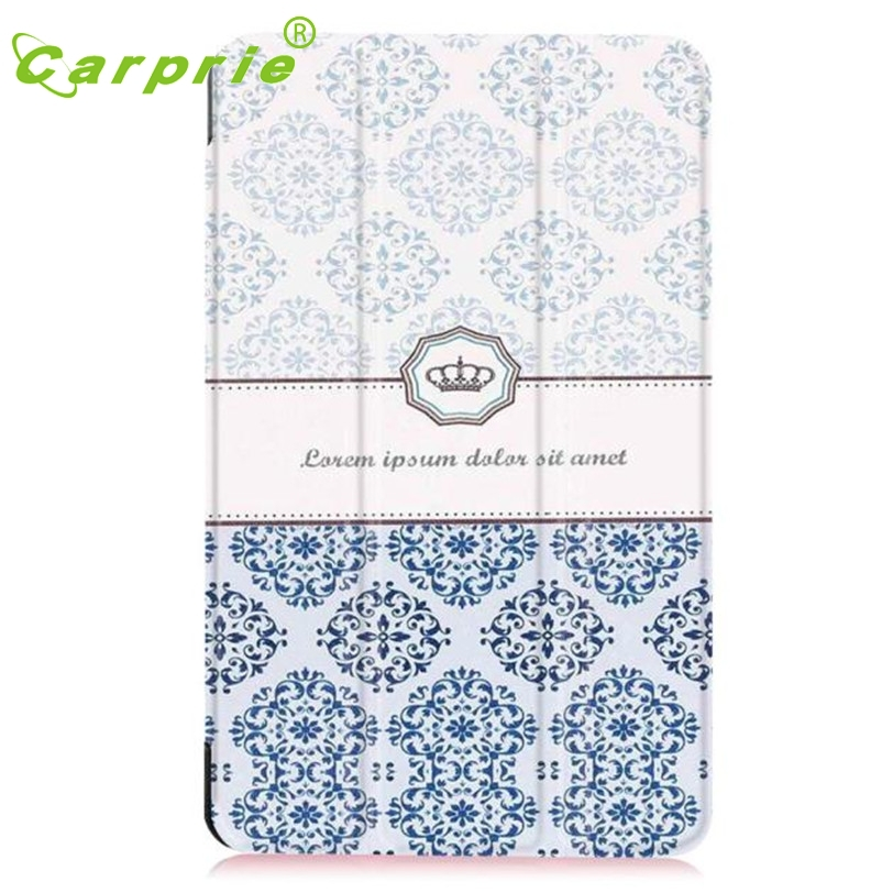 CARPRIE Case Cover for Samsung Galaxy Tab E 8.0 Inch Tablet Foldable Slim Leather Feb24 MotherLander