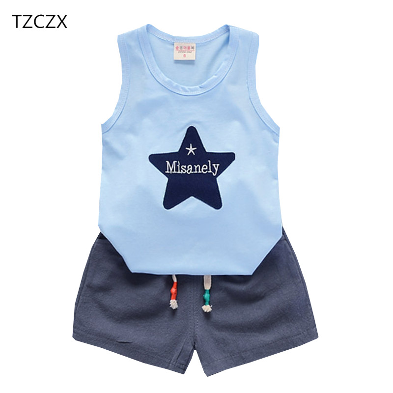 TZCZX New Children Baby Boys Girls Sets Fashion Cartoon Printed Suit For 9 Month to 3 Years Old Kids Wear Clothes kocotree suit for 3 12 years old children unisex cap scarf gloves winter warm three piece sets