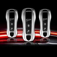 For Porsche Panamera 971 2017 2018 Auto Car Accessories Car Key Shell Case Cover Trim 1 set