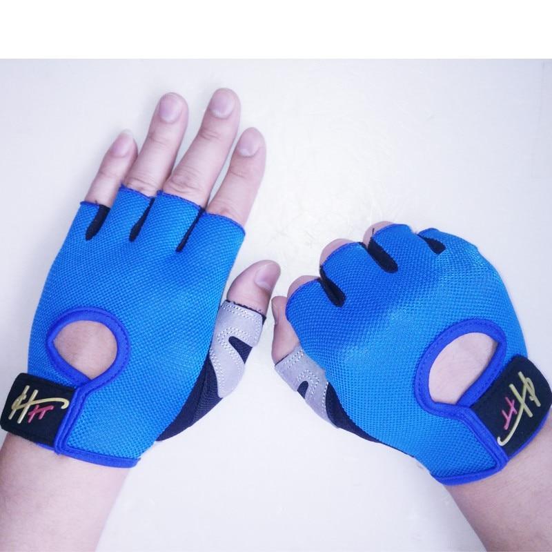Half Finger Body Building Fitness Gym Gloves Crossfit Weight Lifting Gloves For women Men Bike Cycling Gloves Barbell Dumbbell body building sports cyling half finger gloves for women black red