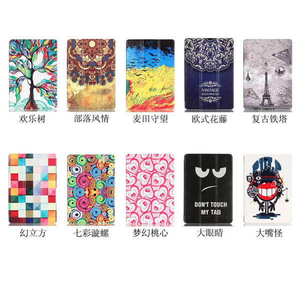 High quality PU Case Cover for Samsung Galaxy Tab A6 10 1 2016 T585 T580  SM-T580 T580N Case + Screen