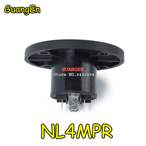 Image 3 - 40 יח\חבילה עבור מותג NL4MPR Speakon מחברים סוג nl4fx שקע עבור 4 קוטב Plug זכר אודיו מחבר neutrik