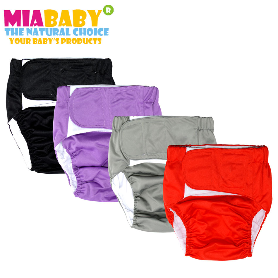 Miababy Cloth Diaper For Adult,Children And Grandparents, Washable And Reusable.