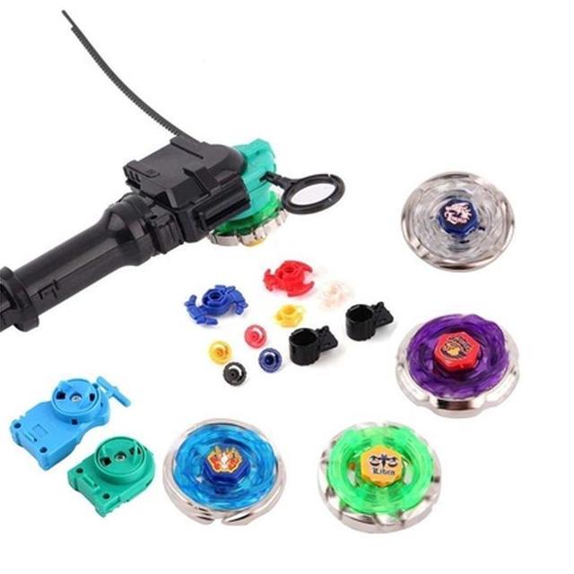 Металл Fusion Beyblade Гироскопа Beyblade W/Установка Рождественские Игрушки Для Детей