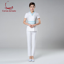 Cosmetologist's working clothes spring health salon beauty salon SPA hotel working clothes