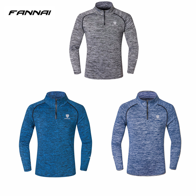 e3ef8057815 US $11.77 49% OFF New Sport Men Quick Dry T shirt Long Sleeve Sport Top  Sportswear Men Fitness Outdoor Running Mountaineer Clothing Training  Shirt-in ...