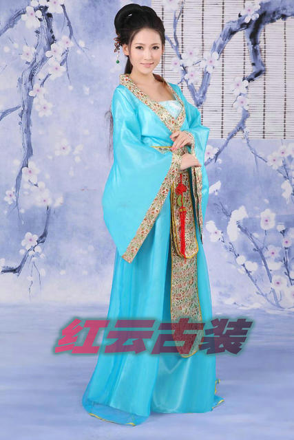 50498f362 Stage Costume tang suit clothes fairy costume chinese style Women girls  Chinese costume Hanfu dresses clothing