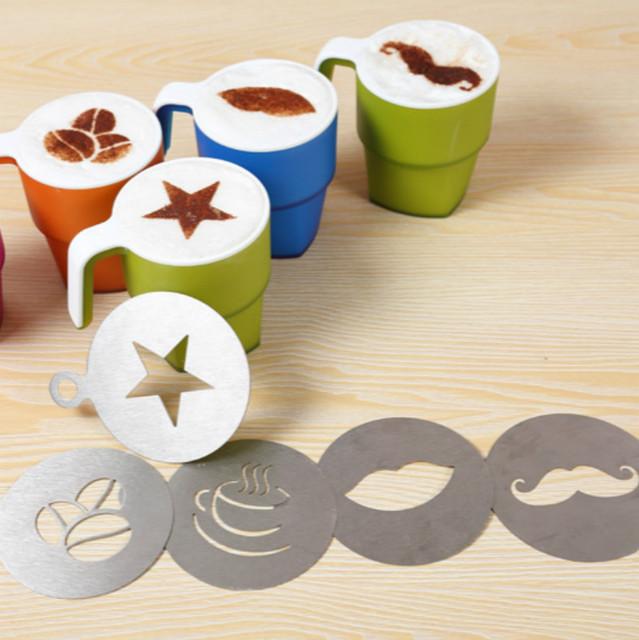 Stainless Steel Latte Art Stencils